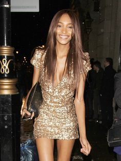 Jourdan Dunn Says Goodbye To London, Alexandra Burke Joins The Party