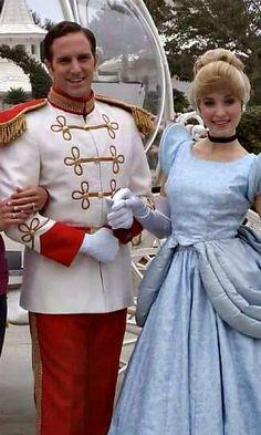 Prince Charming at Disney World