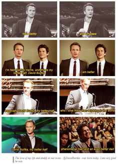 Neil Patrick Harris and David Burtka [gifset] - good grief they're sweet.