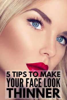 If you want to look thinner without breaking a sweat, this list of easy make-up tricks will teach you how to make your face look thinner instantly. Tips And Tricks, How To Apply Eyeshadow, How To Apply Makeup, Paraître Plus Mince, Beauty Secrets, Beauty Hacks, Beauty Products, Beauty Care, Hair Beauty