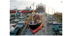Controversy Over Merger South Korean Shipbuilders Confronting Merger Issue amid a Narrow Escape