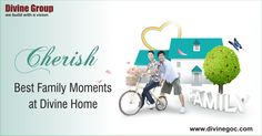 Every family lives happily in #Divine home as these nicely developed residences comprise all ingredients which help to experience the best moments with dears. http://www.divinegoc.com/