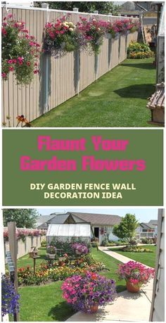 you don't to go anywhere as we have here rounded these 25+ DIY fence decorating ideas with which you can easily spruce up the style statement of your garden  #EasyGardening