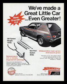Gremlin Car, Chrysler Cars, Chrysler Vehicles, Rebel, Model Cars Kits, Old Classic Cars, American Motors, Car Advertising, Performance Parts