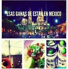 Esas ganas de estar en Mexico!!!