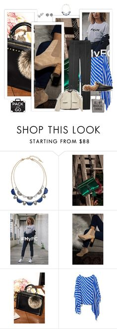 """""""Travel in Style"""" by peeweevaaz ❤ liked on Polyvore featuring Chloe + Isabel, Vince Camuto, Gucci, Circus by Sam Edelman, outfit, polyvoreeditorial, travelinstyle and polyvorefashion"""