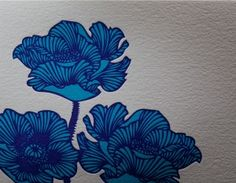 Fuck yes. Please - I literally think I just found what I& going to get for my shoulder flower tattoo(s)! Illustrations, Illustration Art, Art Deco Tattoo, Blue Tattoo, Arm Tattoo, Poppies Tattoo, Blue Poppy, Design Graphique, Future Tattoos