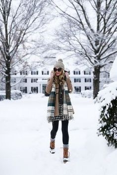If you have not ever experienced winter, you might believe that it is not as bad as it looks. As it's winter it could be more appropriate to wear boot...