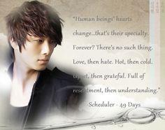 korean drama quotes | 49 days