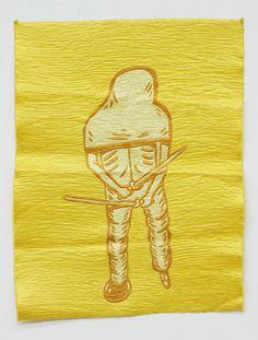 Yellow Soldier #2, 2009  by Eko Nugroho