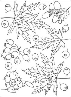Nicole's Free Coloring Pages: COLORING AUTUMN * COLORING PAGE