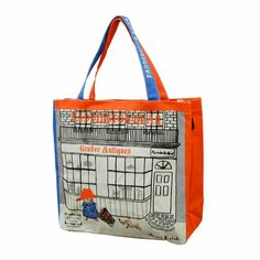 [ZAKKA SHOP Shinzi Katoh Collection]Zipper Tote Bag [Paddington Bear]