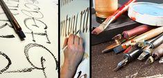 Kalligrafian opastusta