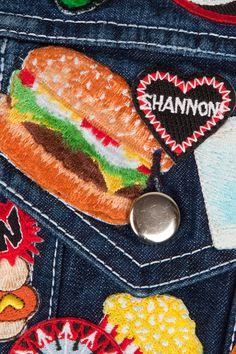 Christopher Shannon SS13 Patch Jacket | Limité Magazine