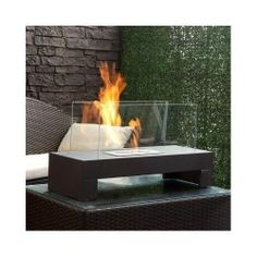Outdoor Fire Pit Ultra Modern Fireplace Indoor Outdoor Patio FirePit BackYard