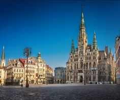 Edvard Beneš square, The Town Hall, Czechia Prague Spring, Central Europe, Places Of Interest, Town Hall, Interesting Faces, Czech Republic, Croatia, Poland, Travel Destinations