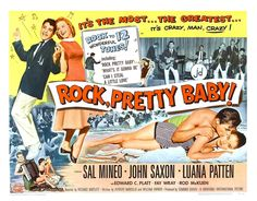 """The 1950s saw numerous teen-oriented movies attempting to cash in on the rock & roll craze by adding the word """"rock"""" to the title. Such films include """"Don't Knock the Rock,"""" """"Rock, Rock, Rock,"""" and 1956's """"Rock, Pretty Baby"""""""