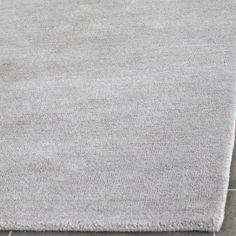 Safavieh Hand-loomed Himalaya Grey Wool Rug (8' x 10')
