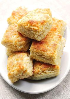 This recipe for Buttermilk Biscuits makes the perfect fluffy biscuit.