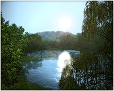 Latoya Sims: Prato di Livori (UPDATED: 27.08.2013) Sims 3 Worlds, Beautiful Landscapes, River, Outdoor, Outdoors, Outdoor Games, The Great Outdoors, Rivers