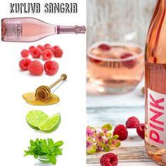 Juhannuksen ykkösjuoma on #PlatinoPink #sangria. Resepti löytyy viinityttaa.fi