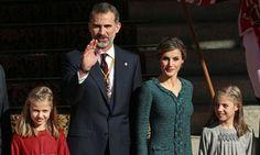 El Rey, acompañado de la Reina y sus hijas, preside la apertura de las Cortes Generales La Princesa de Asturias y la infanta Sofía apuntan un nuevo acto institucional en su agenda. 17.11.2016rey