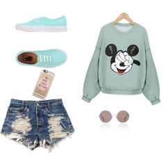 Untitled #7 by adenvait on Polyvore featuring polyvore, fashion, style, Levi's, Vans and Sunday Somewhere
