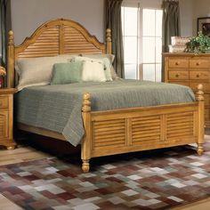 Lancaster Oak Cal King Poster Bed at North Carolina Furniture Best