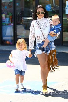 Kourtney Kardashian Shows Off Her Incredible Figure In Daisy Dukes And Lace After Scott Disick Split