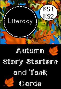 Autumn Story Starters and Task Cards for KS1/Lower KS2