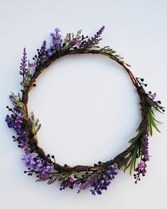 Solstice Flower Crown by Mintandmelonboutique on Etsy