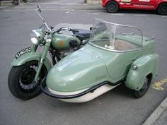 Beautiful Motorcycle and Sidecar combination 24/08/2011