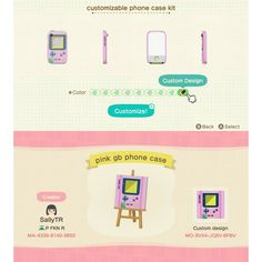 Cool Phone Cases 699465385864790576 - Source by Animal Crossing Memes, Animal Crossing Qr Codes Clothes, Game Boy, Motif Acnl, Nintendo, Ac New Leaf, Happy Home Designer, Animal Games, Like Animals