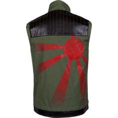 Fun Ghoul (aka Frank Iero) back side of his vest