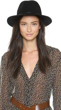 Hat Attack Wool Felt Avery Fedora Hat
