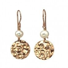 Goldfilled Earrings with Pearls