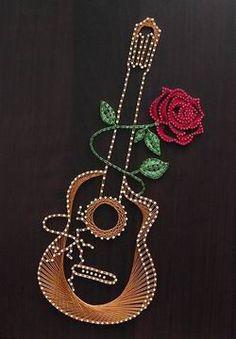 guitar&red_rose