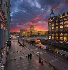 35PHOTO - Сергей Дегтярёв - Казанский мост, Набережная канала Грибоедова