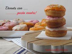 """La Cucina di Azzurra: DONUTS.....CON LA MIA """"ORNELLA"""" RIFIORITA!"""