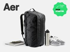 Aer Duffel Pack: The Modern Office and Gym Bag by Aer — Kickstarter