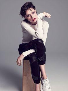 Coco Rocha by Mikael Schulz for Allure Magazine Korea November 2014 2
