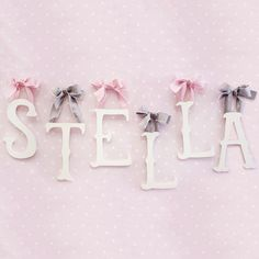 New Arrivals Letter Wood Storybook from @LaylaGrayce #laylagrayce #children #nursery