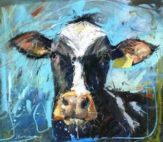 Friesian cow 2 by James Bartholomew