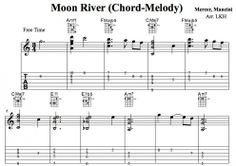 Moon River 기타악보
