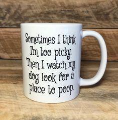 Funny coffee mug funny dog mug coffee mug mugs mug with sayings coffee mug with sayings gift ideas home and living drinkware mug cups - funny memes Coffee Mug Quotes, Funny Coffee Mugs, Coffee Humor, Funny Mugs, Dog Coffee, Coffee Cups, Tea Cups, Personalized Mugs, Custom Mugs