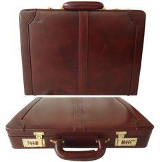 Men-Hard-Briefcase-Genuine-Leather-Attache-Doctor-Lawyer-Bag-Vintage-Style