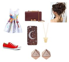 Children's party by zoella11 on Polyvore featuring polyvore fashion style Converse Valentino FOSSIL Gorjana clothing