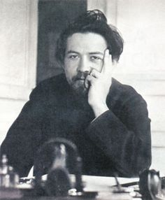 Anton Chekhov, photographed by his brother Alexander in 1891.