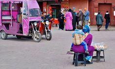 Marrakech, variazione di colore.