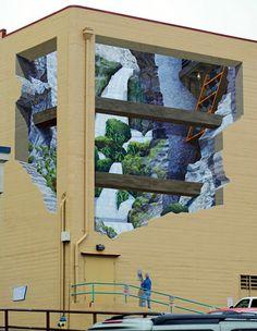 Increíbles murales en 3D. ¡WOW! - ES CORRECTO